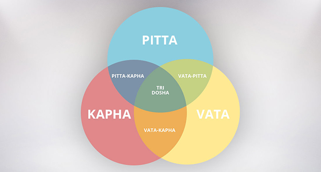 Vataja Prakriti, pittaja Prakriti, and kaphaja Prakrit,Role of Tridoshas,