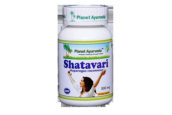 Shatavari Capsules by Planet Ayurveda