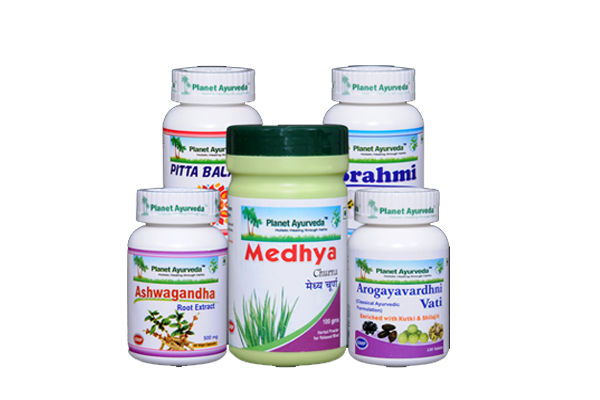 Herbal Medicine for migraine by Planet Ayurveda
