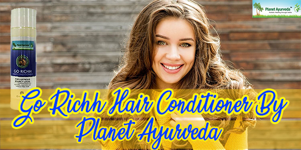 Go Richh Hair Conditioner By Planet Ayurveda