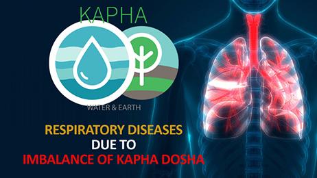 Respiratory Diseases Due to Imbalance of Kapha Dosha